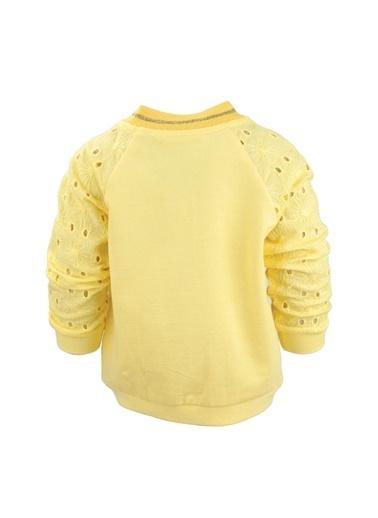 Mininio Yeşil Grow Free Dantelli Kollu Sweatshirt (9ay-4yaş) Yeşil Grow Free Dantelli Kollu Sweatshirt (9ay-4yaş) Sarı